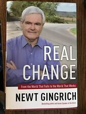 Coa Matching Holograms Newt Gingrich Signed Autographed To Renew America Hc Hard Cover Book