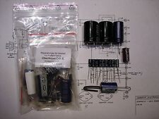 Oberheim si-x alimentation Elko-Kit power supply Caps recapping recap repair synth