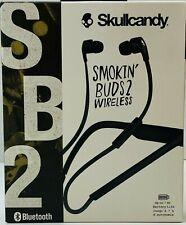 Skullcandy Smokin Buds 2 Black Wireless In-Ear Bluetooth Headphones With Mic