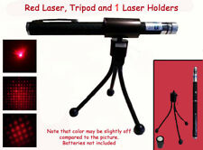 3 PC Red Laser Pen With Holder & Tripod~Paranormal Equipment