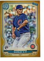 Adbert Alzolay 2020 Topps Gypsy Queen 5x7 Gold #34 /10 Cubs