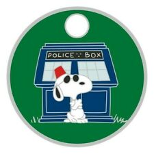 Pathtag  41586  -  Snoopy   Dr. Who  -geocaching/geocoin *Retired- Only 50 Made*