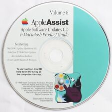 Apple AppleAssist Vol 6 Software Updates and Macintosh Product Guide