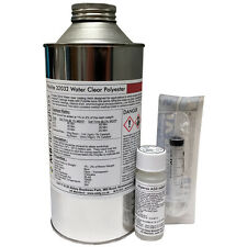 Polycraft Polylite Water Clear Casting Resin + Catalyst & Syringe - 1kg