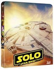 Solo - A Star Wars Story (Blu-Ray 3D + Blu-Ray Disc + Bonus Disc - SteelBook)
