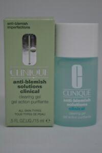 Clinique Anti-Blemish Solutions Clinical Clearing Gel BNIB 0.5fl.oz./15ml