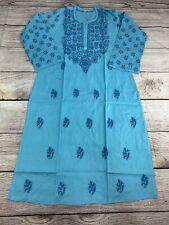 Bust 38 Medium Bust  Indian Kurta Chikankari Kurta Lucknow Handwork Tunic