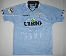 S.S Lazio #17  Guerino Gottardi Umbro Authentic Jersey size XL