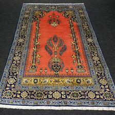 Orient Teppich Ghom 160 x 103 cm Seide Perserteppich Rotrost Handgeknüpft Rug