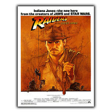 Raiders of the Lost Ark Steven Spielberg Letrero de Metal Placa de pared cartel impresión