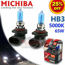 MICHIBA HB3 9005 5000K Diamond Xenon WHITE Light Bulbs for ALFA ROMEO Low Beam