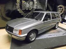 OPEL Rekord E Caravan Kombi silber silver 1981 BoS Resin NEW NEU 1:18