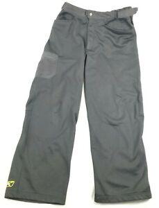 Klim Womens Black Transition Snowmobile Pants Polyester/Spandex Sz XL Snow 3255