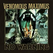 VENOMOUS MAXIMUS - No Warning (NEW*US OCCULT DOOM METAL/NWOBHM*D.HEAD*M.FATE)