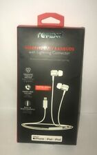 NEW REMIXD HIGH FIDELITY EARBUDS HEADPHONES WITH LIGHTNING CONNECTOR (iPHONE)