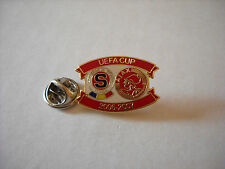 a1 AJAX -  SPARTA PRAHA cup uefa europa league 2007 spilla football calcio pins