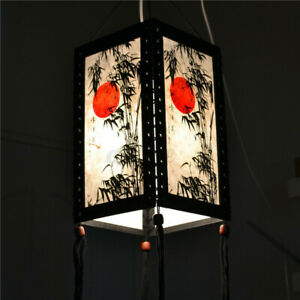 Asian Oriental Home./ Bedroom / Living Room Decor Desk / Table / Floor Lamp