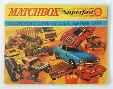 Vintage 1970 Matchbox Lesney Diecast Collector's Toy Dealer Catalog Booklet