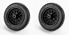 "2 - OEM Sears Craftsman  9"" X 2"" Rear Wheels 180762,532193139,532198319"