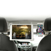 Support de Tablette Téléphone Portable Appui-tête de Voiture Auto Siège Arrière