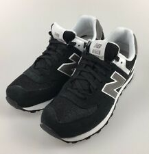New Balance 574 WOMENS Running Sneakers M574SKW- Black/White/Gray sz 9 us #gb6