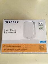 NetGear  5-Port Gigabit Ethernet  Switch ( GS605 )