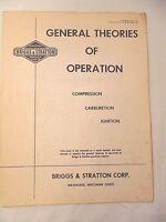 1960's Briggs & Stratton General Theories of Operation Compression Original