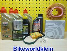 BMW R 1150 GS 03-05 Öl Ölfilter Luftfilter Zündkerzen Keilrippenriemen