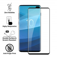 For Samsung Galaxy S10 Note 10+ S9 S8 Full Cover Tempered Glass Screen Protector