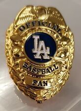 LOS ANGELES DODGERS OFFICIAL BASEBALL FAN BADGE PIN