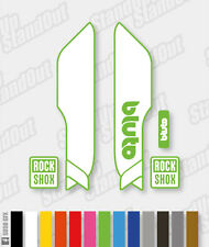 RockShox BLUTO 2015 2016 Style Decals Stickers - 2 Colour Custom Designer Pack