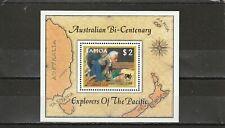 SAMOA - SGMS763 MNH 1987 AUSTRALIA BICENTENARY - OVPT HAFNIA