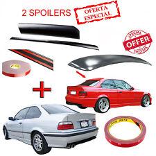 Aileron de Toit Plastique ABS + Spoiler Coffre Polyuréthane pour BMW E36 Coupé