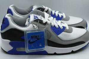 NikeAir Max 90 'Recraft Hyper Royal Blue' Sneakers (CD0881-102) size 8