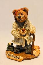 Boyds Bears Bearstone Figurine Collection Scrooge McBear Bah Humbug
