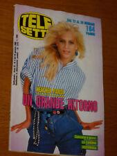 TELESETTE 1989/4=HEATHER PARISI=HUNTER=RICK ASTLEY NICK KAMEN=ELVIRE AUDRAY=