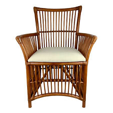 GOLDIN  HAMPTONS  RATTAN  CANE DINING CHAIR ARMCHAIR EASY CHAIR