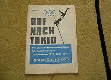 """""""Auf nach Tokio"""" Sonderausgabe Neues Deutschland XVIII. Olympische Spiele 1964"""