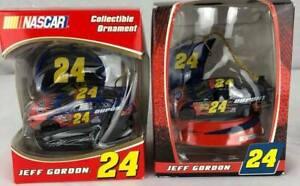 Trevco Nascar Christmas ornaments collectible Boy Jeff Gordon 24