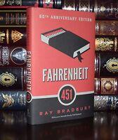 Fahrenheit 451 by Ray Bradbury 60th Anniversary Edition Hardback Gift Edition