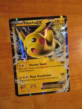 EX Pokemon PIKACHU EX Card BLACK STAR PROMO Set XY174 Ultra Rare Battle Tin TCG