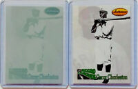 1/1 OSCAR CHARLESTON 1993 TED WILLIAMS PRINTING PLATE NEGRO LEAGUES LOT 1 OF 1
