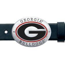 Georgia Bulldogs Belt Buckle