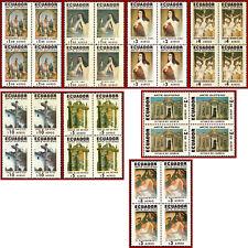 Ecuador 1971 Religious Art in Quito, Religion, Saints set ** MNH, Mi 1523-1530