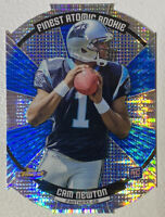 2011 Topps Finest CAM NEWTON ATOMIC REFRACTOR ROOKIE RC - MVP PATS QB HOT!!