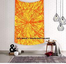 Tie Dye Spiral Hippie Indian Tapestry Mandala Wall Hanging Throw Bedspread Gypsy