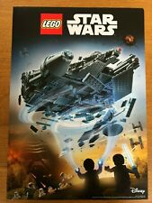 STAR WARS LEGO MINI FIGURES DOUBLE SIDED DISNEY OFFICIAL A3 POSTER