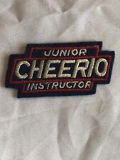 Vintage Rare Junior Cheerio Instructor Yo-Yo Shield Patch