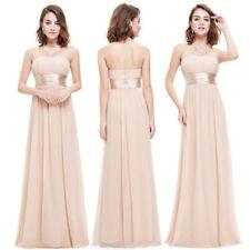 Strapless Long Off the Shoulder Dresses for Women
