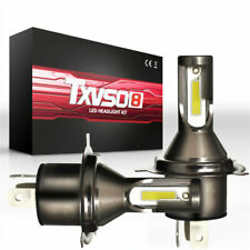 2X H4 110W 26000LM Steel Globes LED Car Headlight Hi/Lo Bi-Xenon Kit Bulbs White